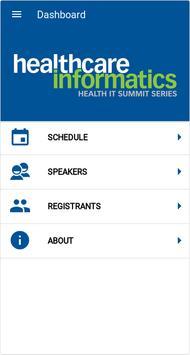 2018 Health IT Summit Series poster