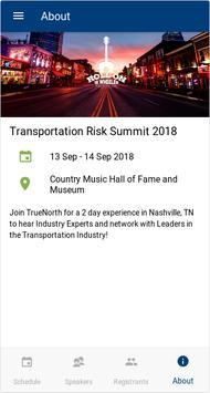 TN Transportation Risk Summit poster
