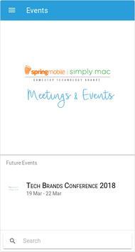 Tech Brands Meetings & Events screenshot 1