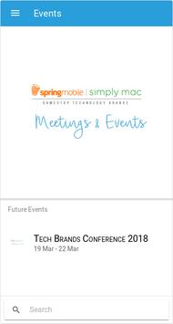 Tech Brands Meetings & Events screenshot 1