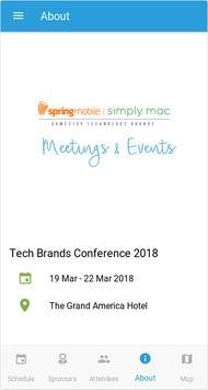 Tech Brands Meetings & Events screenshot 2