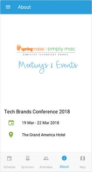 Tech Brands Meetings & Events screenshot 2