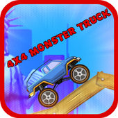 4X4 Monster Truck Hill Climb icon