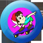 Skateboard Si Bolang icon