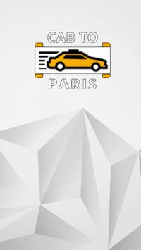 Cab To Paris VTC poster