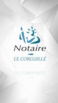 Office Notarial Le Corguillé, Theix poster