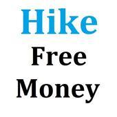 Free Money to Hike wallet icon