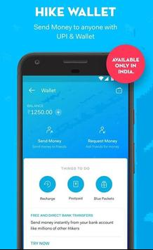 Free Money to Hike wallet poster