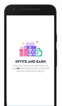 Free Money to Hike wallet screenshot 1