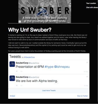 Swuber poster