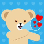 Snuggle LOVEmoji Keyboard icon