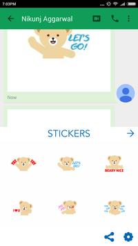 Snuggle LOVEmoji Keyboard screenshot 3