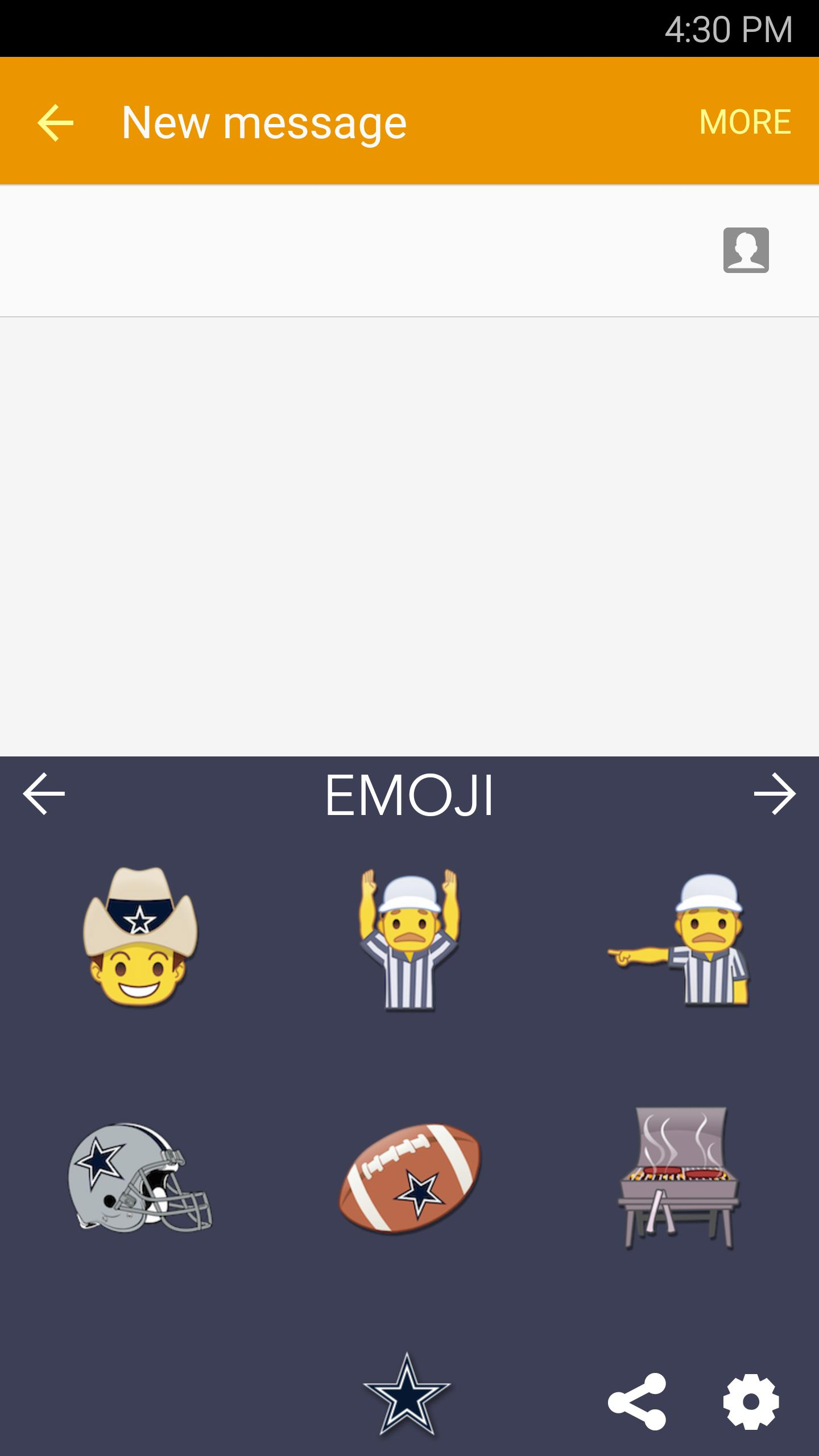 NFL Emojis for Android - APK Download