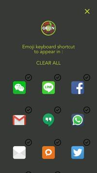 Orijin Emoji Keyboard screenshot 3