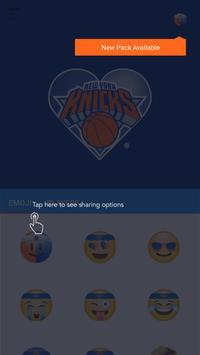 NY Knicks Emoji Keyboard apk screenshot