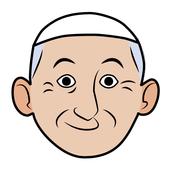 Pope Emoji icon