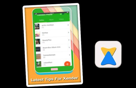 Tips XENDER 2017 File Transfer poster