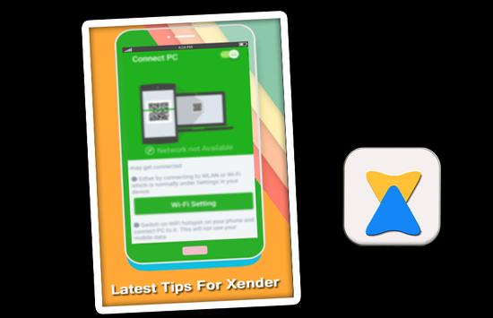 Tips XENDER 2017 File Transfer screenshot 1