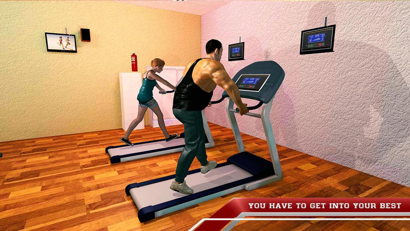Virtual Gym Fit The Fat Fitness Game For Android