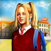 High School Girl Simulator icon