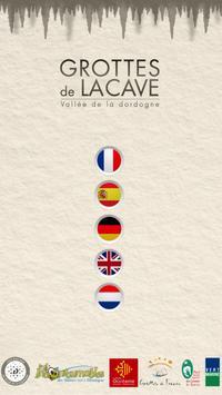 Grottes de Lacave poster