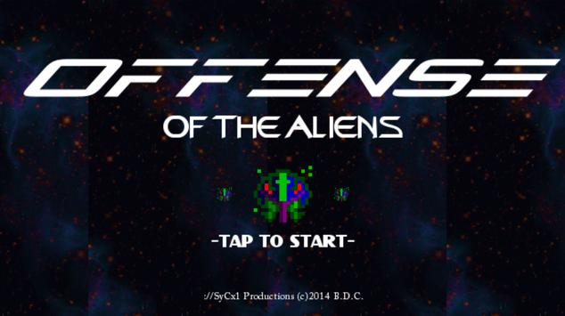Offense of the Aliens apk screenshot