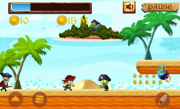 Jack the pirates adventure with lost world apk screenshot