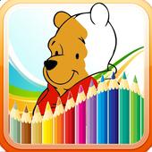 Coloring Winni and Friends icon