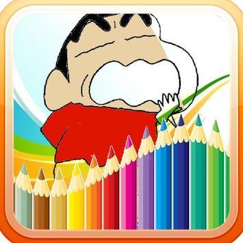 Shincan Coloring Book Free screenshot 3