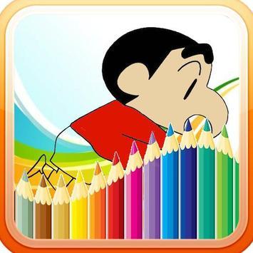 Shincan Coloring Book Free screenshot 4