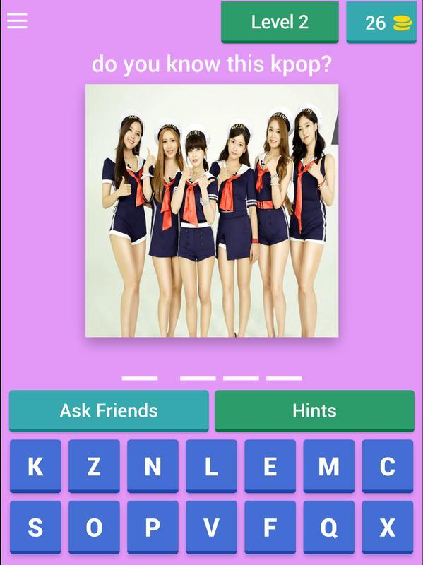 Kpop Idol Quiz 2018 Level 7 Ezu Photo Mobile