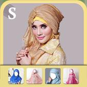 Hijab Party Dress icon