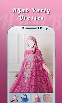 Hijab Party Dress screenshot 1