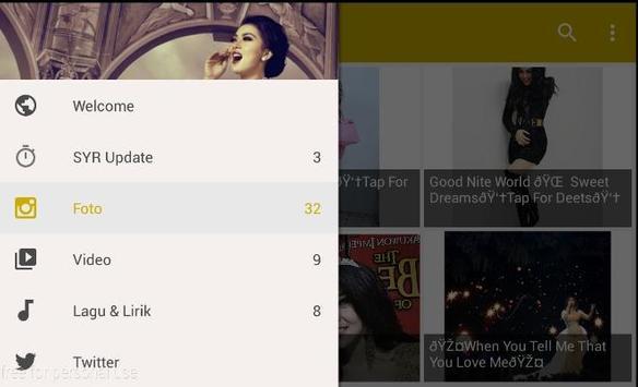 Syahrini Official apk screenshot