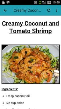Healthy Seafood Recipes screenshot 1