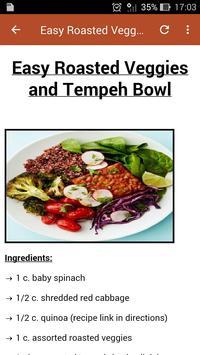 Vegan Food Recipes screenshot 3