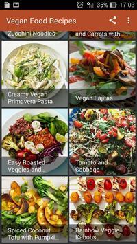 Vegan Food Recipes screenshot 1