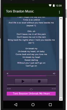 Toni Braxton Music Lyrics screenshot 1