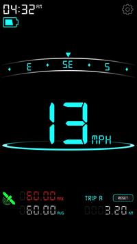 Digital Speedometer - GPS Speed - Mobile Speed KMH poster