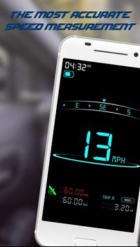 Digital Speedometer - GPS Speed - Mobile Speed poster