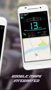 Digital Speedometer - GPS Speed - Mobile Speed screenshot 1