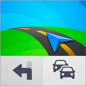 تطبيقات تنقل GPS والخرائط Sygic أيقونة
