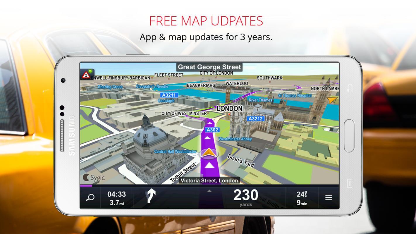 Sygic Taxi Navigation für Android - APK herunterladen