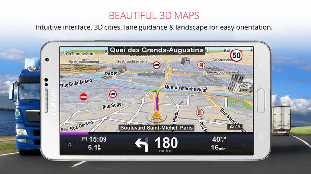 Sygic truck gps navigation apk download free travel local app sygic truck gps navigation apk screenshot gumiabroncs Image collections