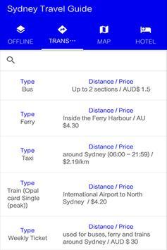 Sydney Travel Guide apk screenshot