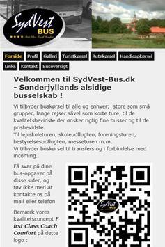 SydVest Bus poster