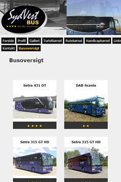 SydVest Bus screenshot 1