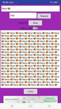 Text Repeater Fast screenshot 2