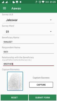 PMAY Survey screenshot 1