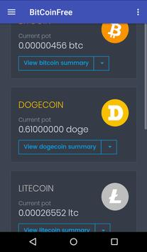 BitCoinFree screenshot 2